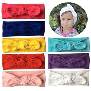 Other - Baby Girls Headbands Pack of 10 Plus Legwarmer